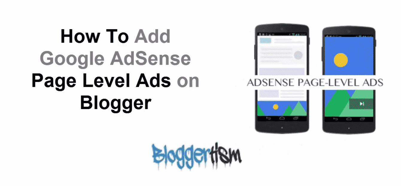 Google AdSense Page Level Ads on Blogger